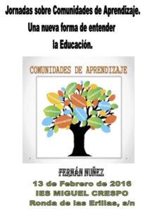 Programa Jornadas COMUNIDADES